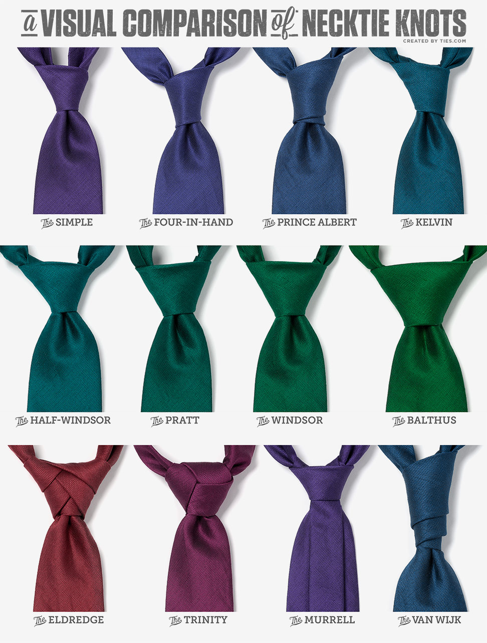a_visual_comparison_of_necktie_knots