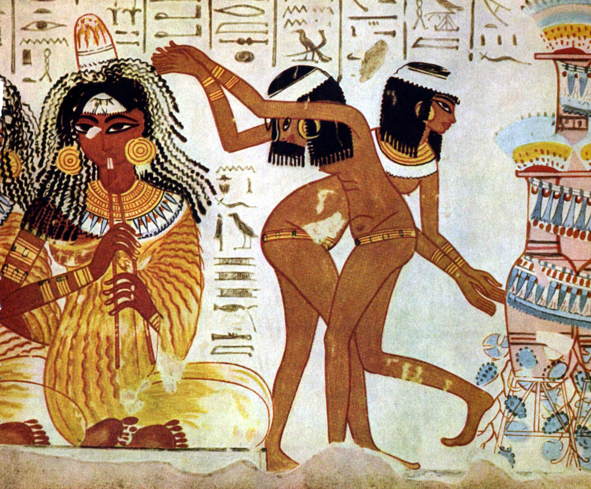https://upload.wikimedia.org/wikipedia/commons/b/bf/Musicians_and_dancers_on_fresco_at_Tomb_of_Nebamun.jpg