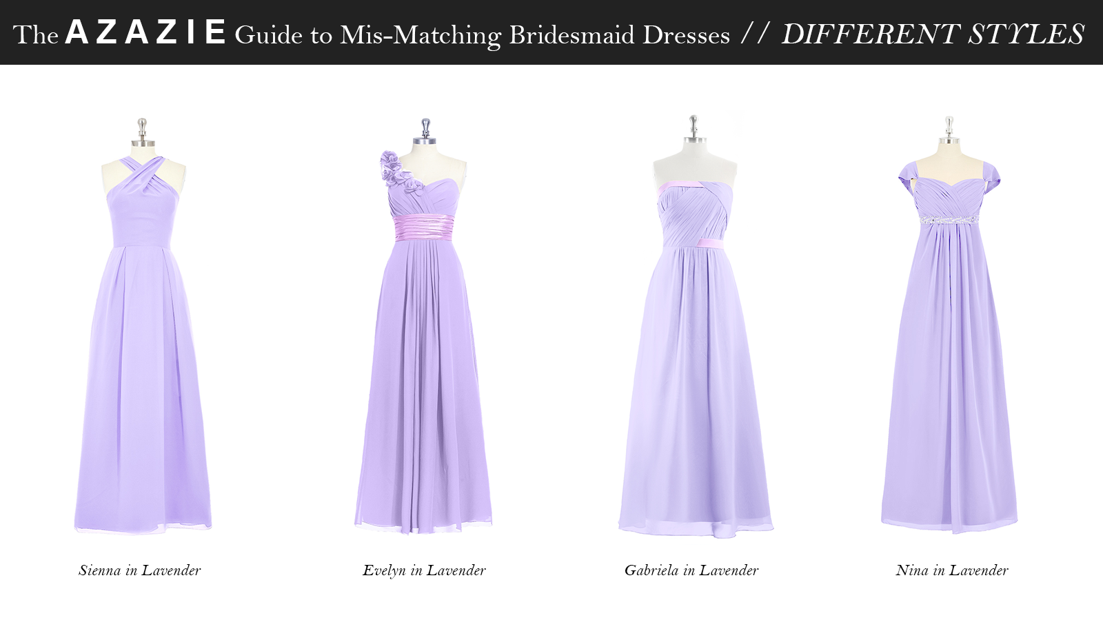 AZAZIE_Guide_MisMatching_Bridesmaid_Dresses_Different_Styles