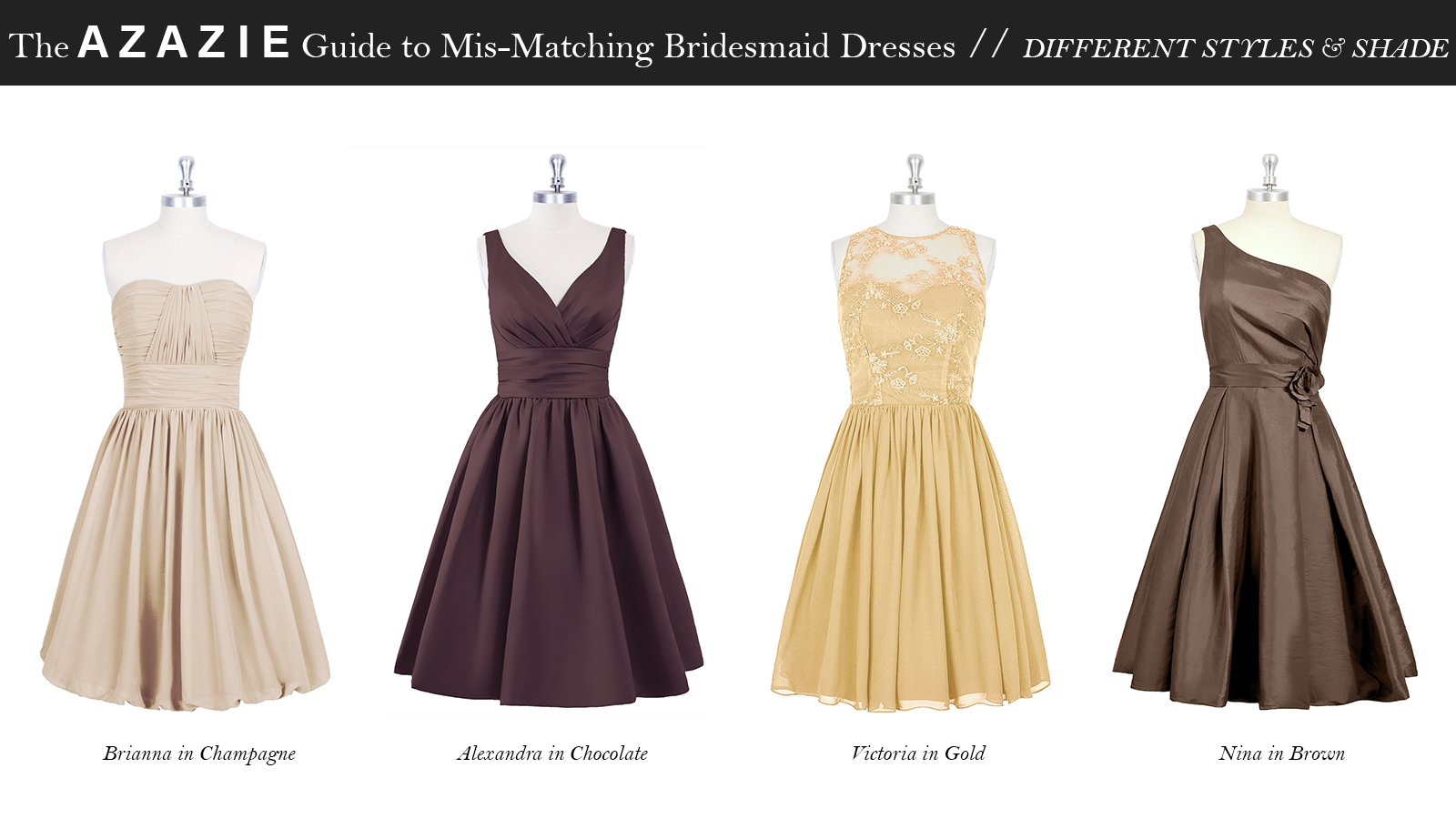 AZAZIE_Guide_MisMatching_Bridesmaid_Dresses_Different_Styles_and_Shade