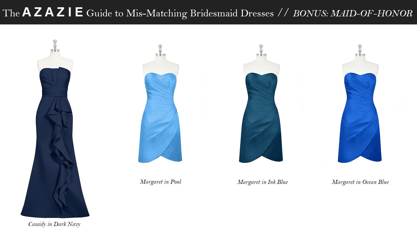 AZAZIE_Guide_MisMatching_Bridesmaid_Dresses_Maid_Of_Honor