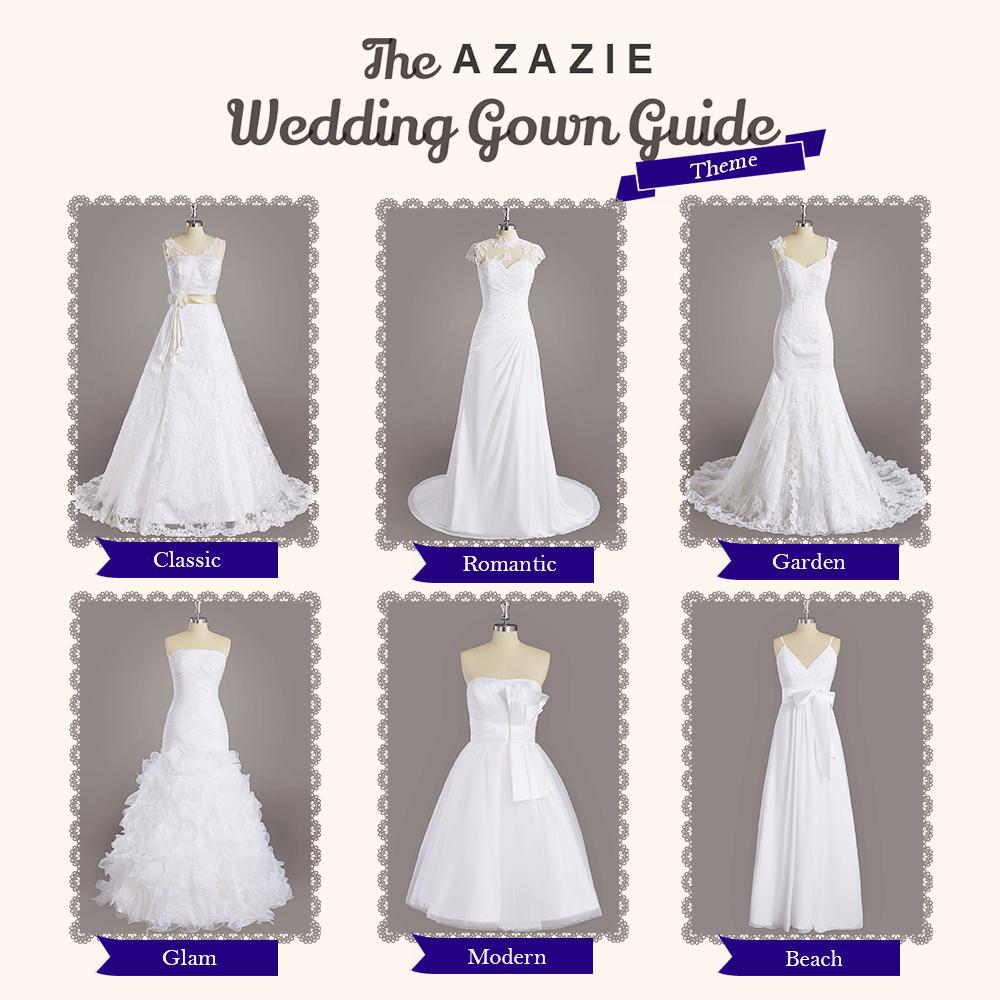 Azazie Wedding Gown Guide | Azazie | Blog