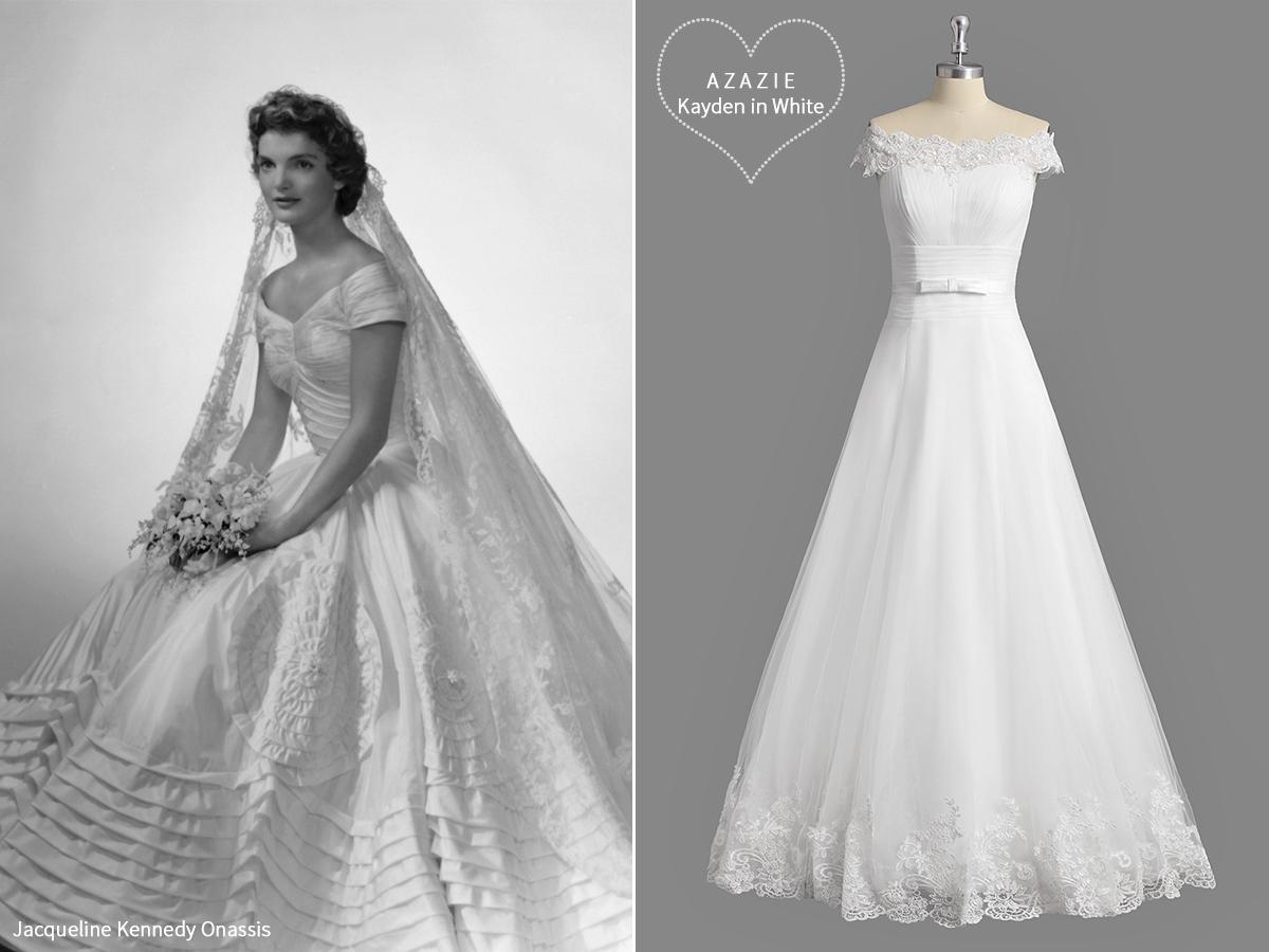 AZAZIE_Iconic_Wedding_Gowns_Inspiration_Jackie_O