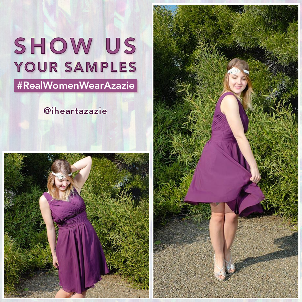 Azazie Sample Dress Giveaway Contest
