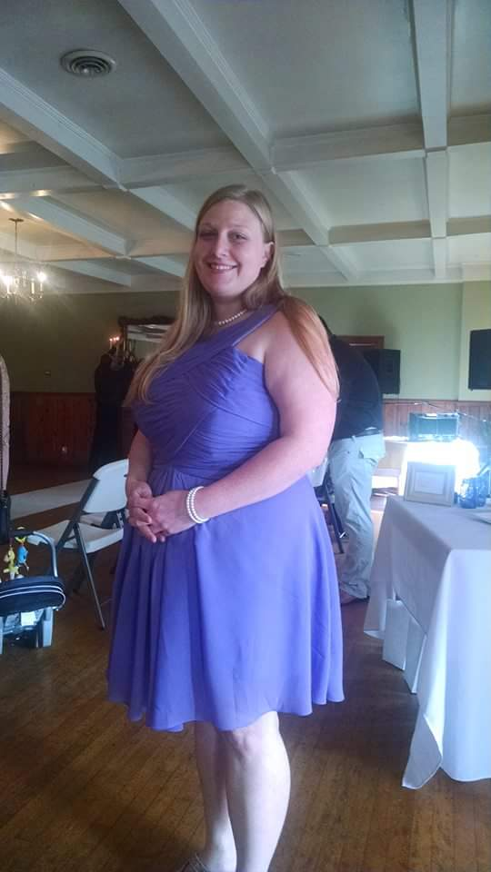 Azazie Purple Bridesmaid Dress Plus Size