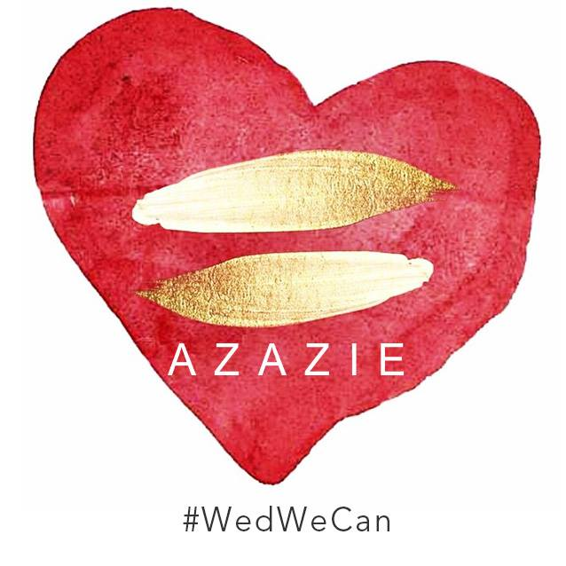 Azazie Wed We Can Marriage Equality Wedding Wire