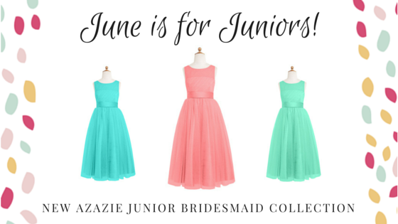 Azazie Junior Bridesmaid Dresses