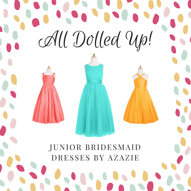 Azazie Junior Bridesmaid Dress Collection