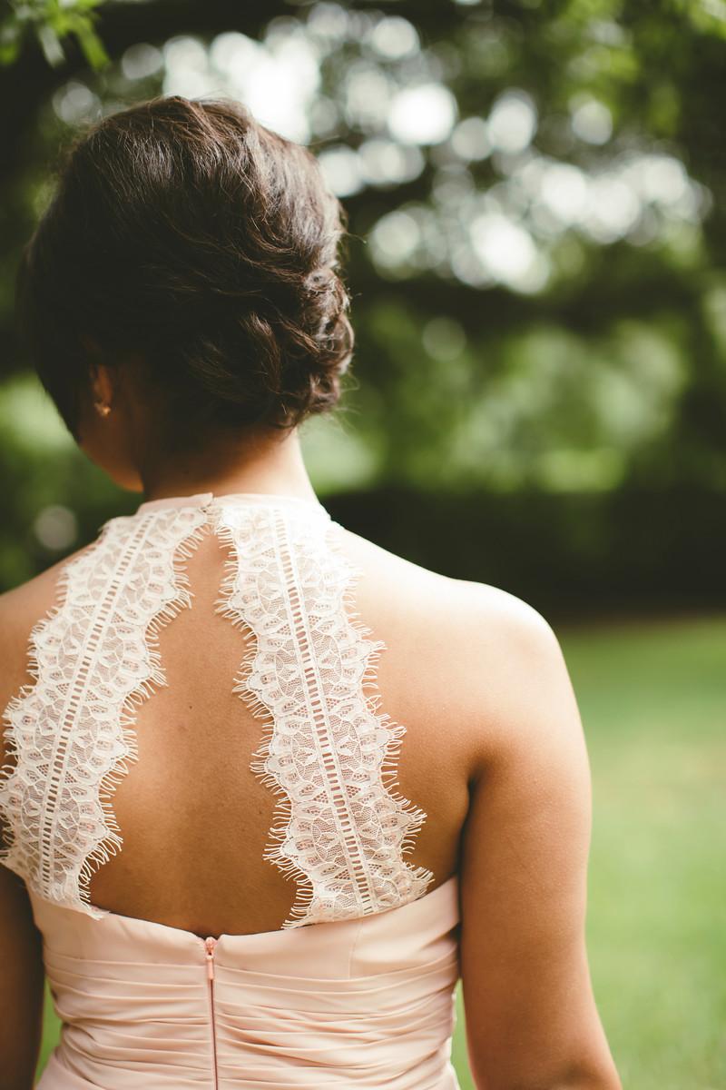 Azazie Regina Bridesmaid Dress Pearl Pink