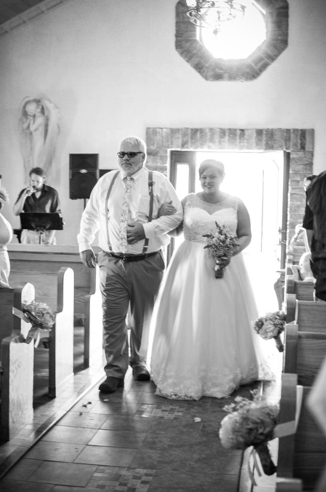 bridgett wedding francesca aisle