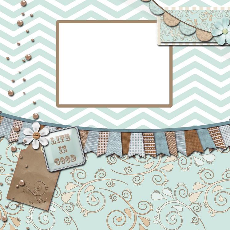 Shore Digital Scrapbook Quick Page Granny Enchanted