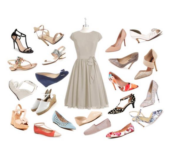 AZAZIE Ingrid Bridesmaid Dress Taupe