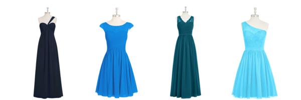 New Azazie bridesmaid designs