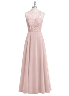 AZAZIE Frederica budget bridesmaid lace gown