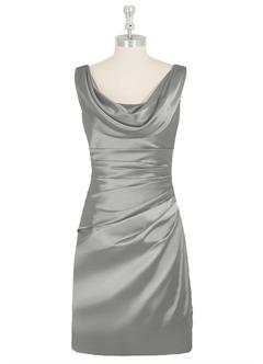 AZAZIE Shyla Charmeuse Bridesmaid Dress