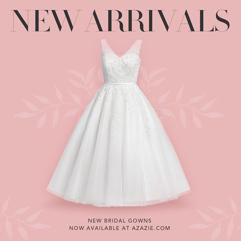 New AZAZIE wedding dresses