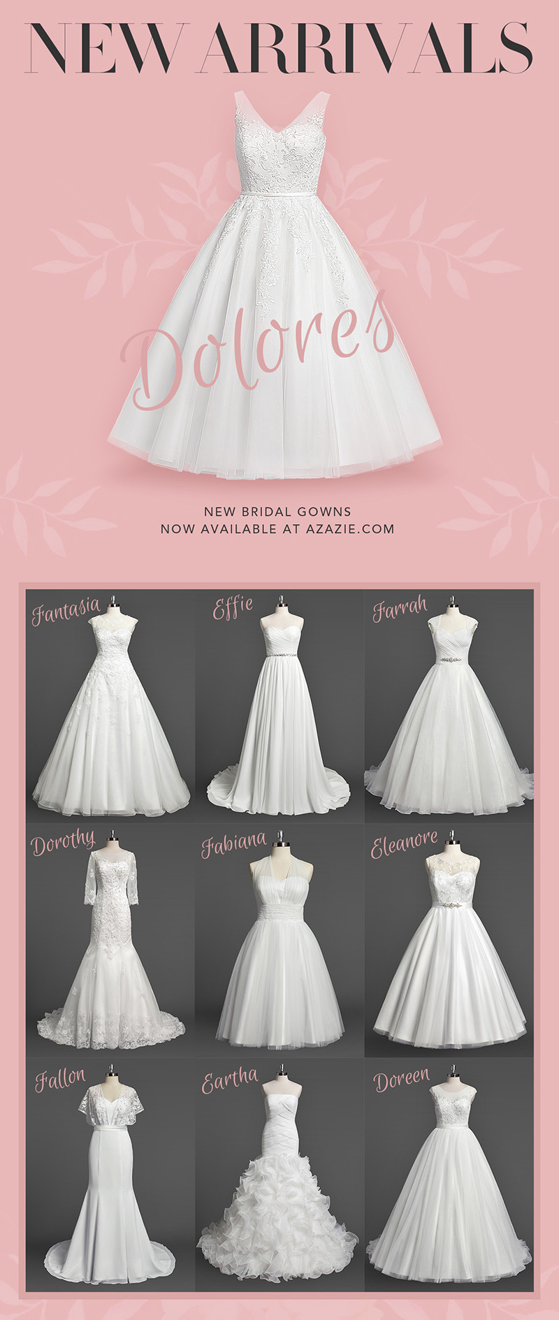 New Arrivals: Wedding Dresses to Swoon For! | Azazie | Blog
