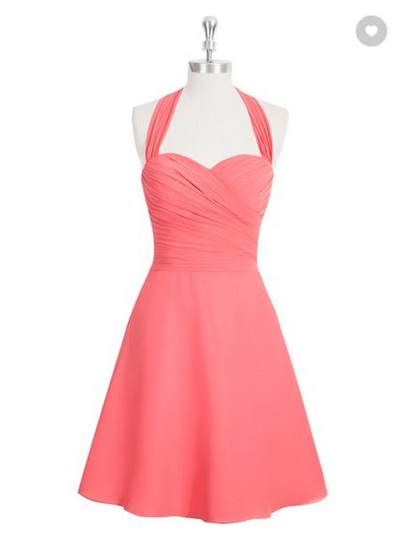 AZAZIE Kinley Bridesmaid Dress Watermelon