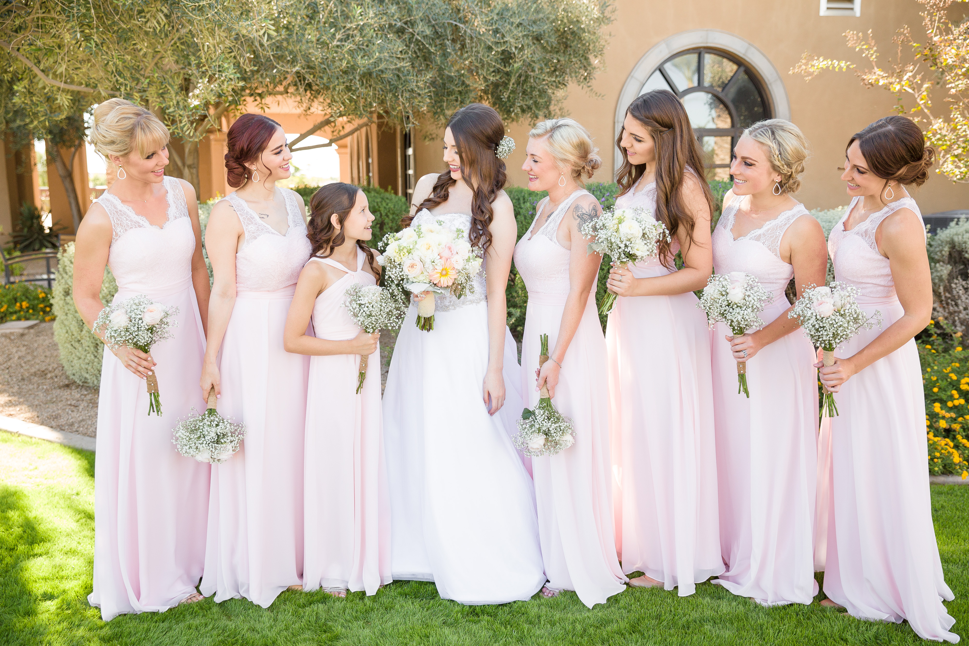 pink-bridal-party