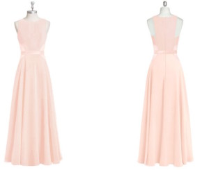 pink, racerback, bridesmaid, dresses, bridesmaid dresses, wedding, formal, gown