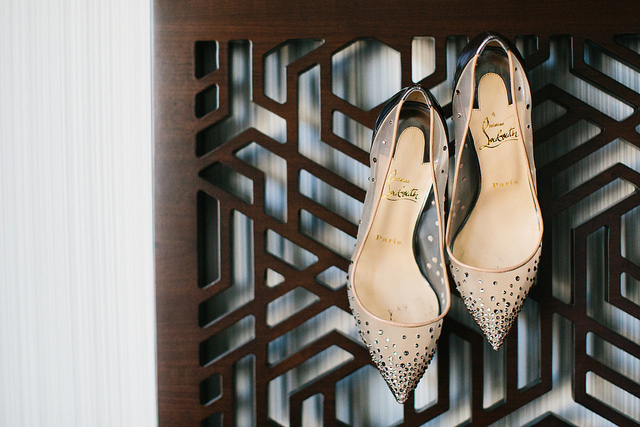 louboutin, wedding, bridal, shoes, bride, inspiration