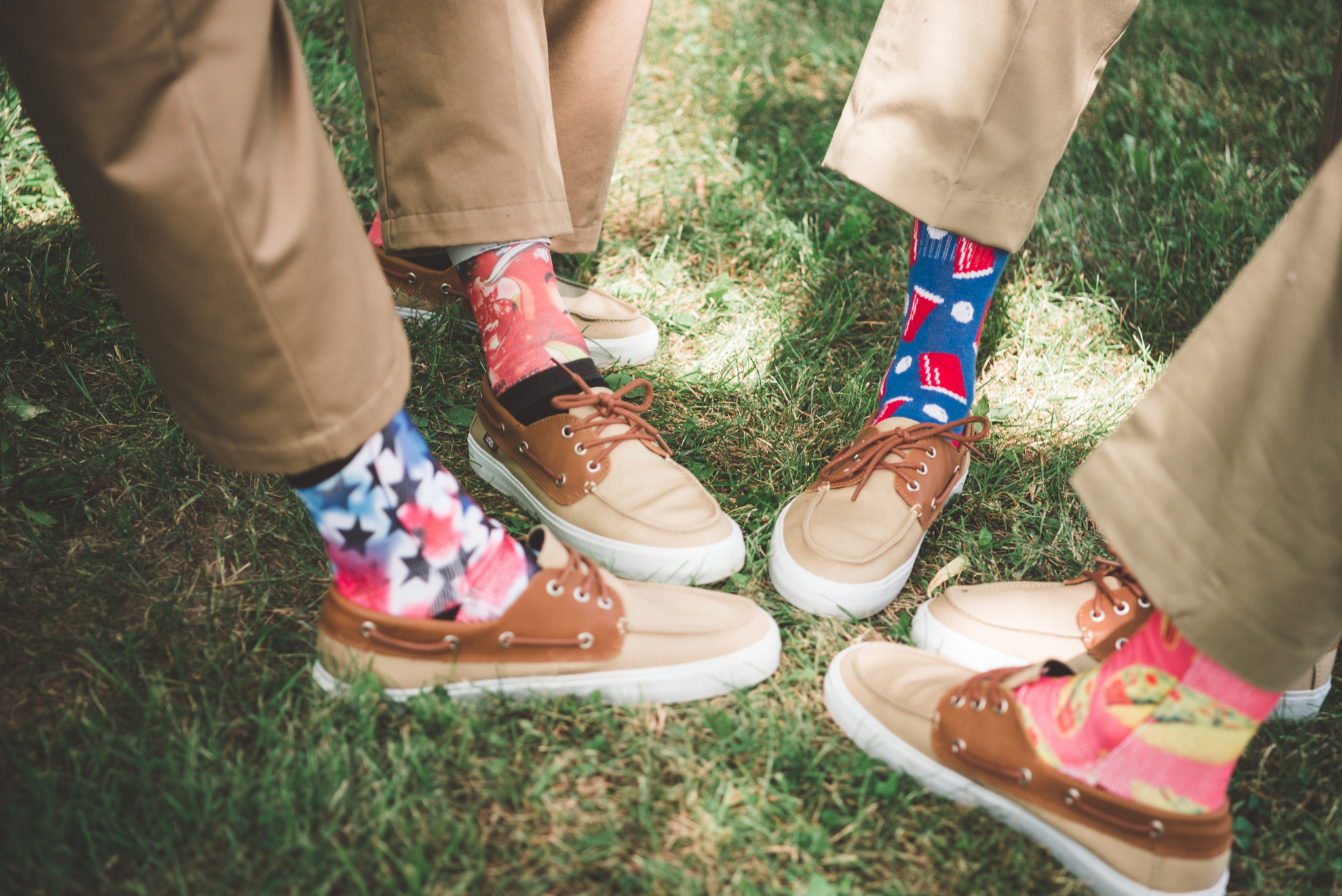 fun, socks, groomsmen, wedding
