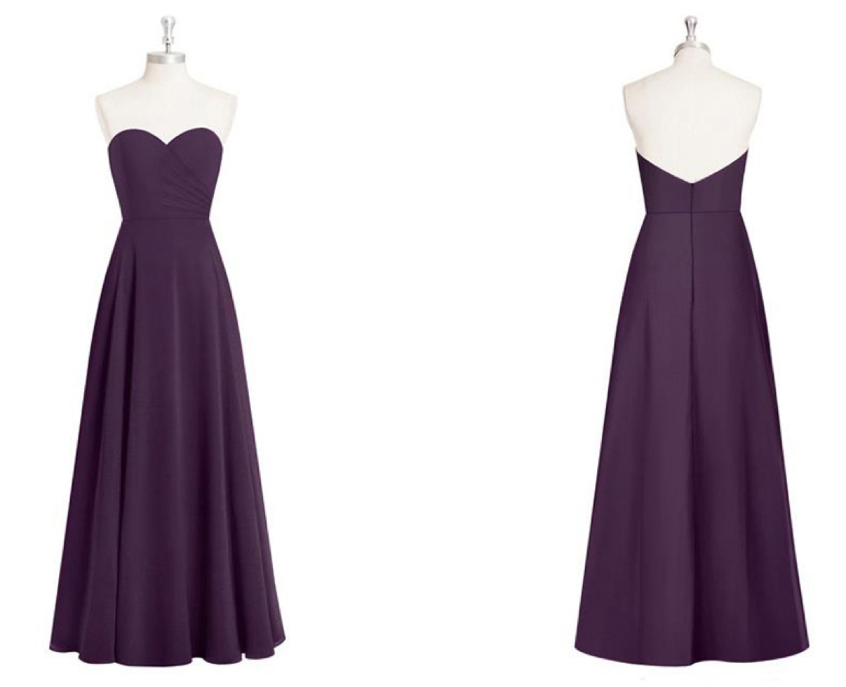 strapless, sweetheart, long, gown, formal, event, bridesmaids, dresses