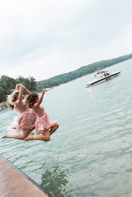 real, wedding, juicebeats photography, lake, summer, outdoors, fun, bridesmaids, inspiration