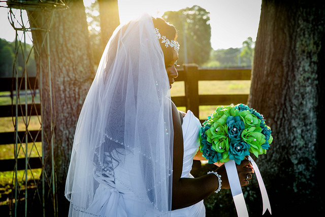 bride, veil, lime, green, jade