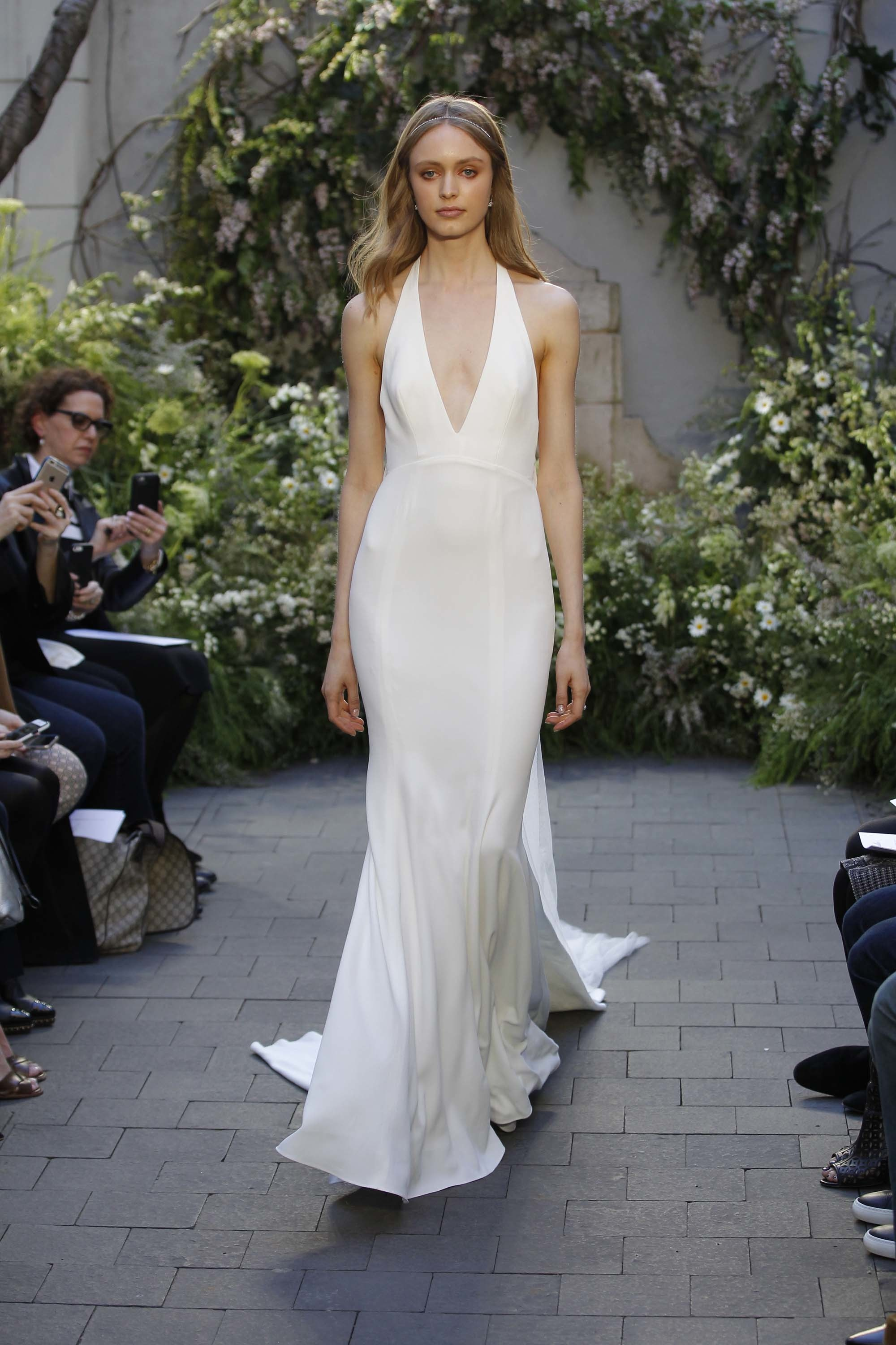 monique lhuillier, bridal, spring, 2017, wedding, dress, trends