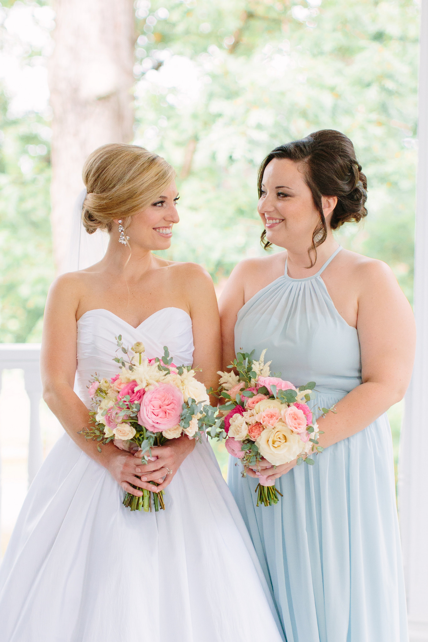 bridesmaids, blue, wedding, dress, affordable