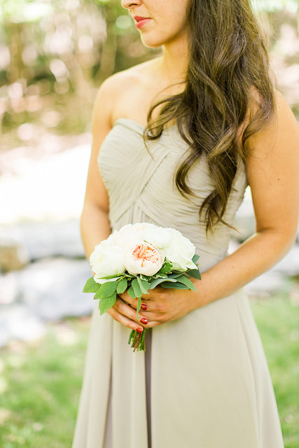 strapless, affordable, custom, bridesmaid, dress