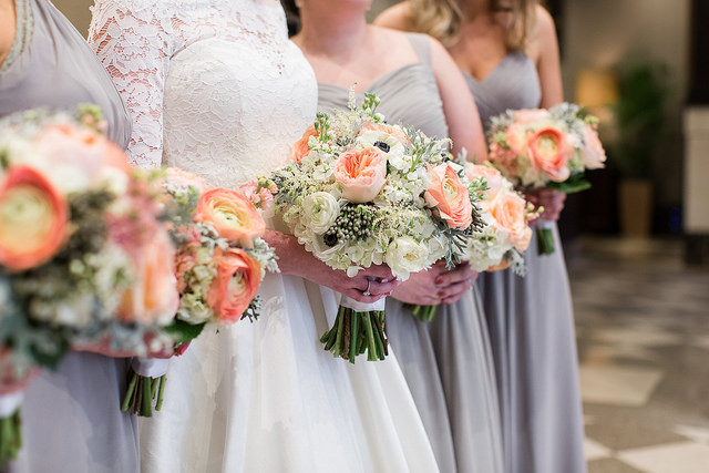 leigh skaggs photography, wedding, real, bouquet, flowers