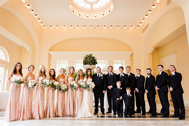 glam, wedding, sparkle, real, bride, groom, bridal, groomsmen