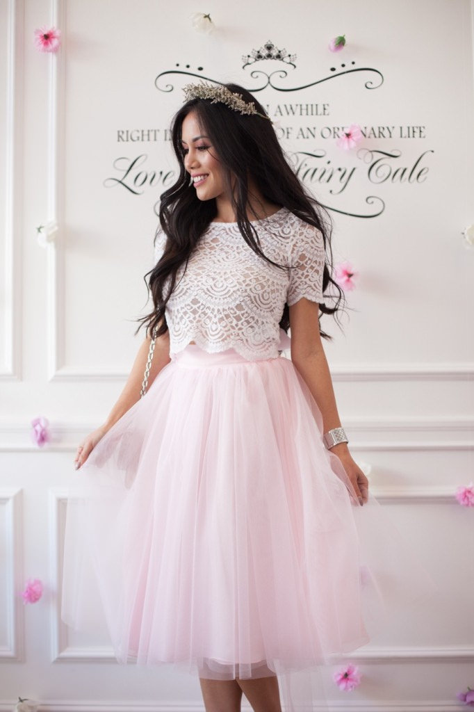 blogger, fashion, tulle, skirt, spring, summer, fun, romantic