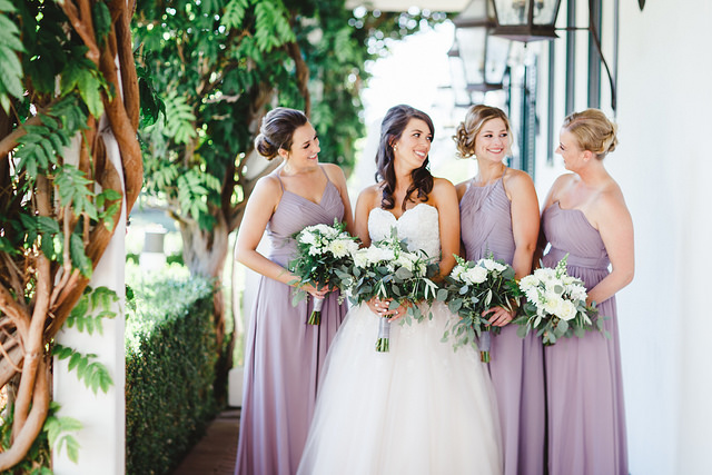 real, wedding, inspiration, bridesmaid, dresses, affordable, chic, outdoors