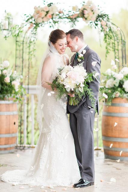 bride, groom, romantic, girly, wedding, real