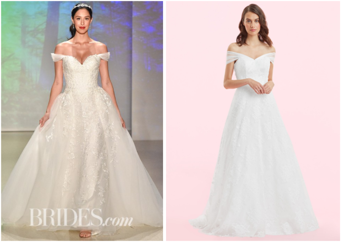 alfred angelo, brides, bridal, look alike, dupe, similar