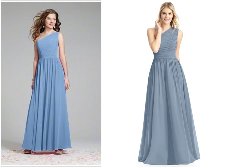 alfred angelo, bridesmaids, bridesmaid, dress, dresses, gown, look alike, dupe, similar, affordable