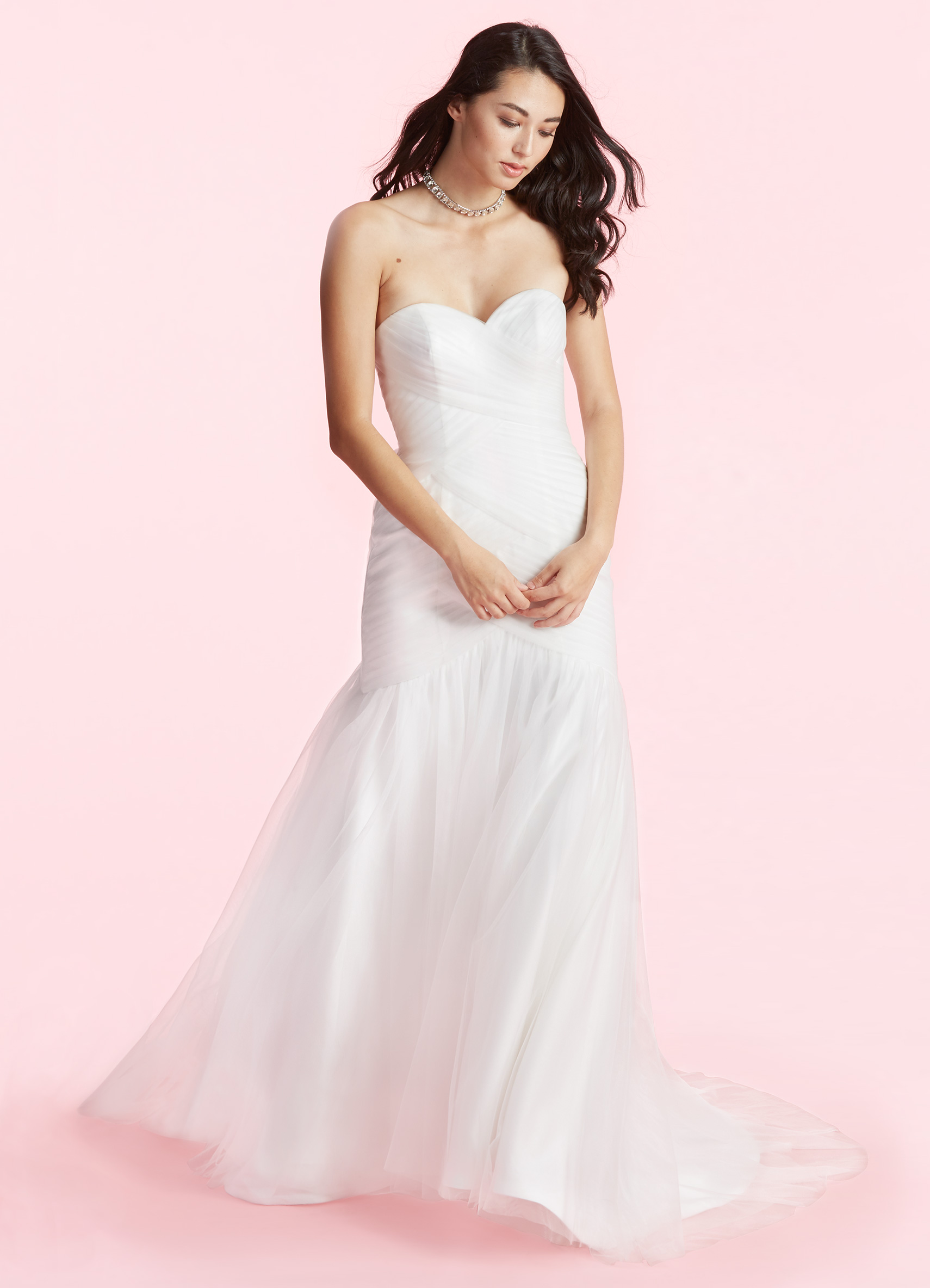62c40bd3f441c ... Misty gown with an ultra-flattering sweetheart neckline. The strapless  design features a pleated bodice and a corset back that will define your  figure, ...