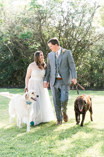 Pets at a Wedding? Yay or Nay?