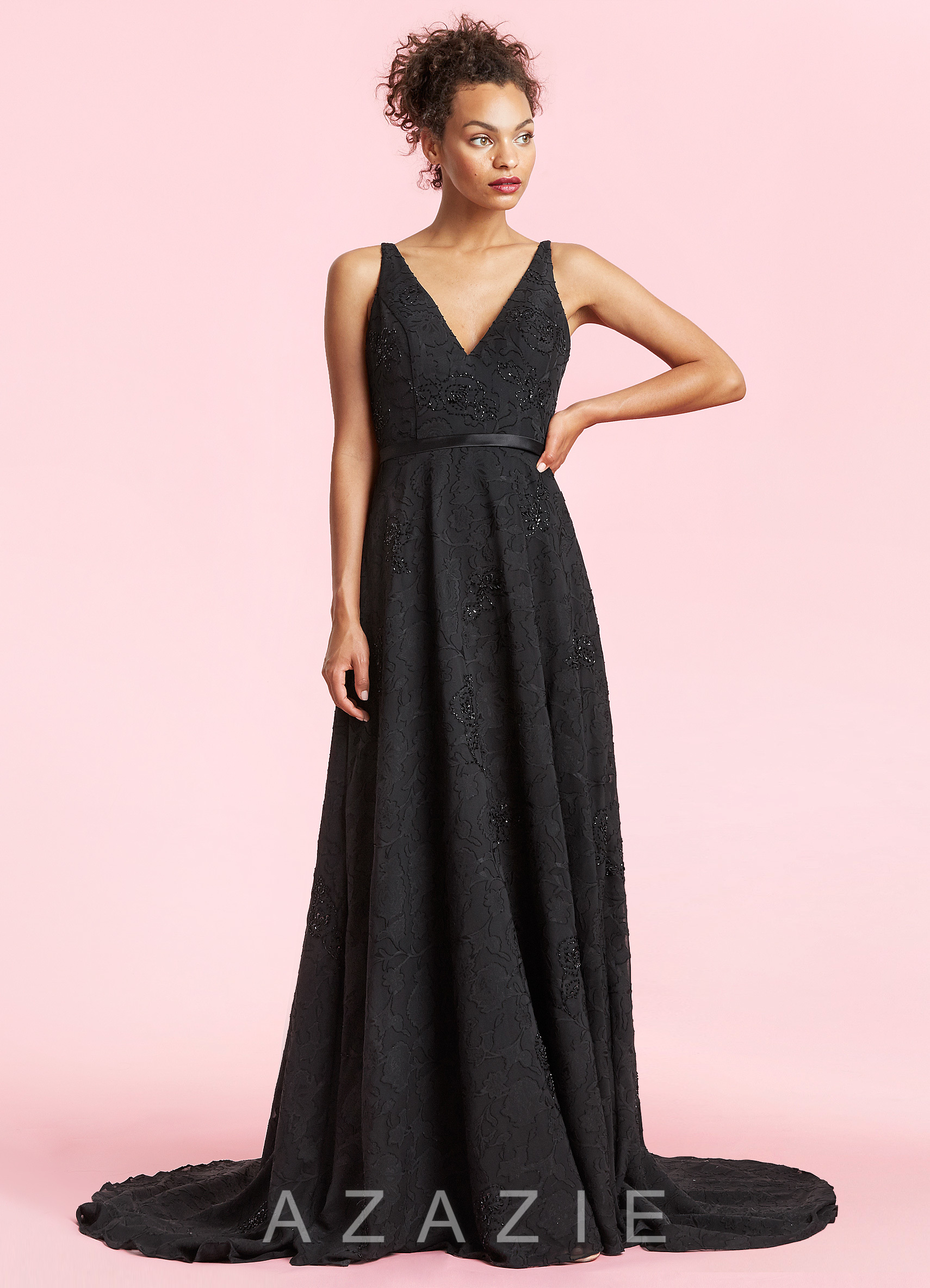 2018 black wedding dresses