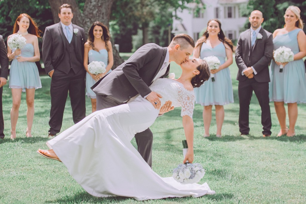 Real #Azazie Wedding | Caitlin + Brendan