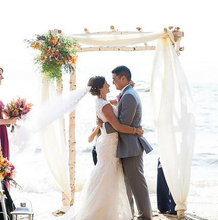 Wedding Crush: Meggie + Brian