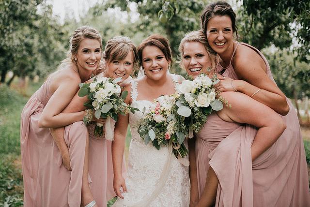Real #Azazie Wedding | Courtney + Shawn