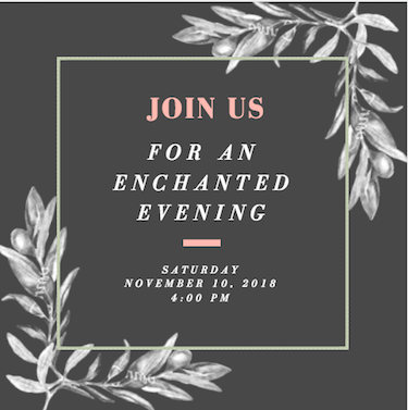 Enchanted Evening Invite