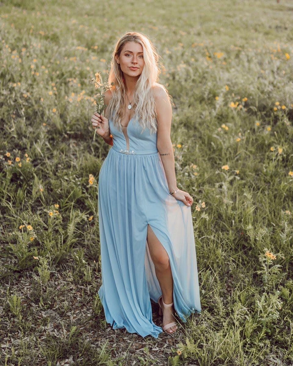 @keepsakeaugust-Leah in Dusty Blue
