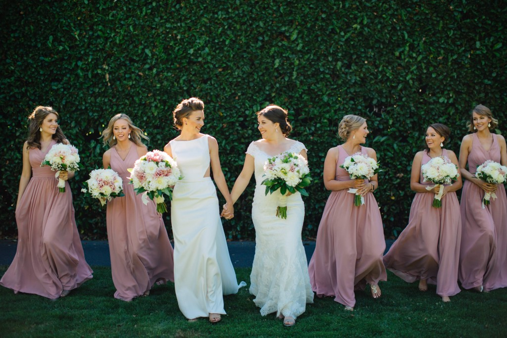 693da0e6d828 Real #Azazie Wedding | Sarah + Kendall