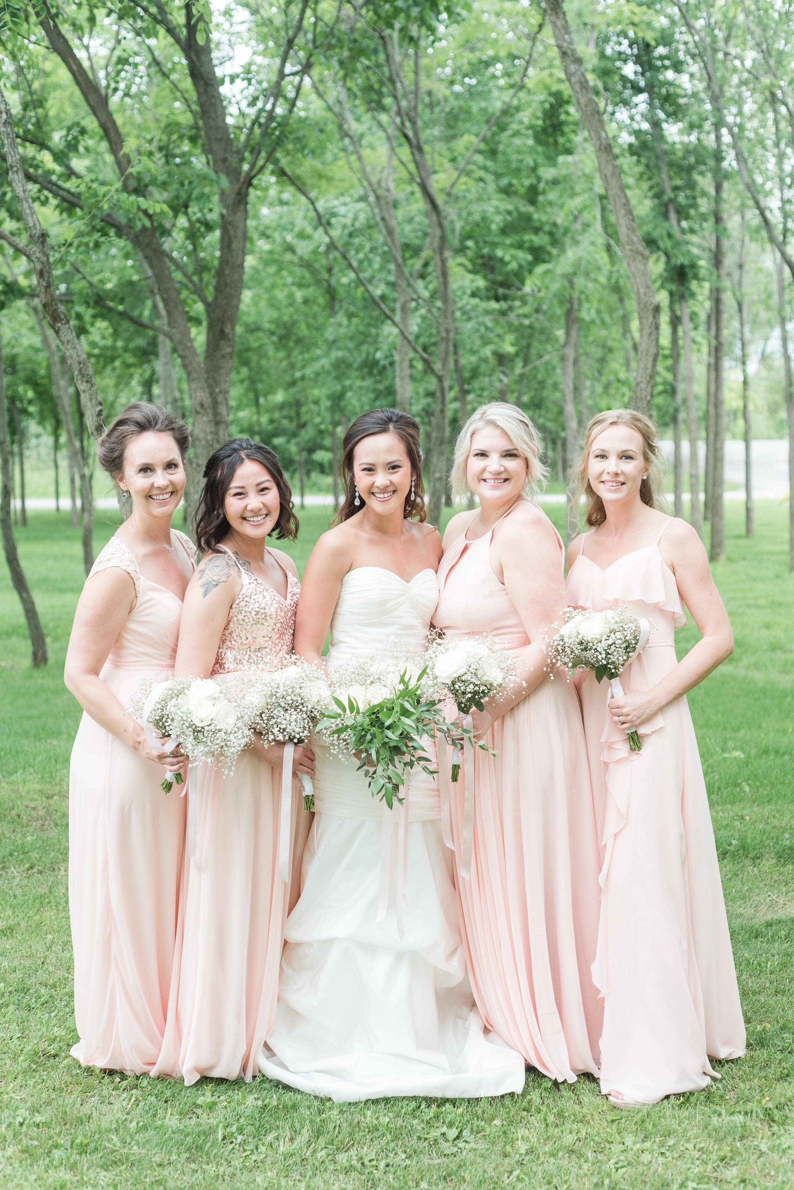 Blush Summer Stonefields Estate Wedding