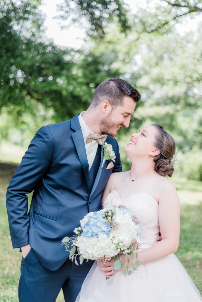 Katy & Mark | The Barn at Bennett Flats, wedding, bride and groom, real bride, real Azazie Wedding, wedding dress, Azazie, real wedding story, bridesmaid dresses